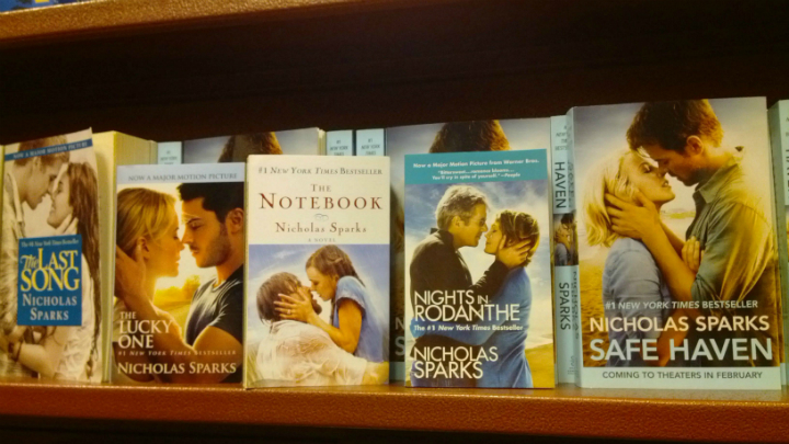 White People Almost Kissing Nicholas Sparks
