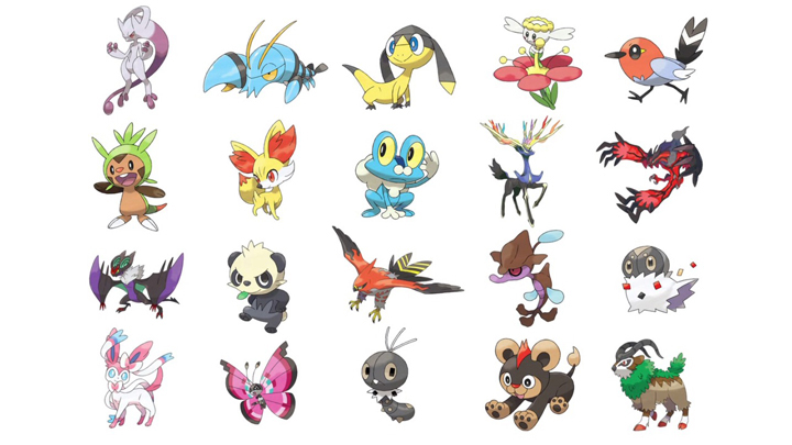 Pokémon X & Y new creatures