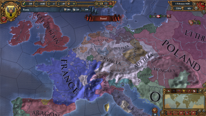 EUIV Austria, Bavaria, France in 1636