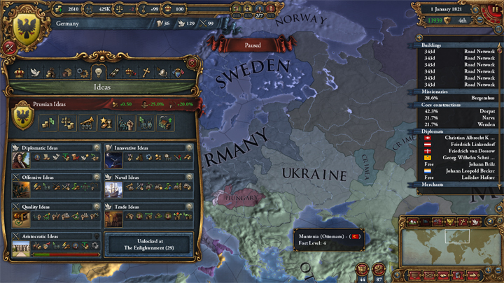 EUIV: Germany Idea Groups 1821