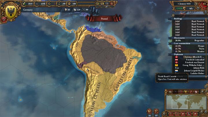 EUIV: South America 1821