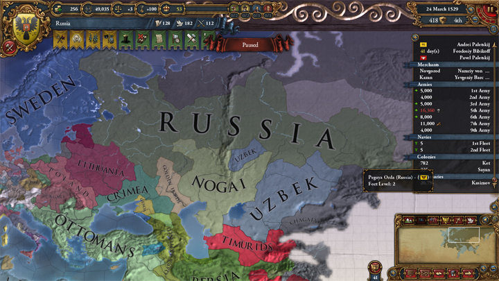 Muscovy: East to the Sea (Part 3)