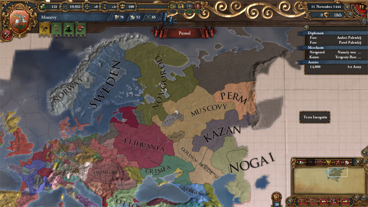 Muscovy: East to the Sea (Part 1)