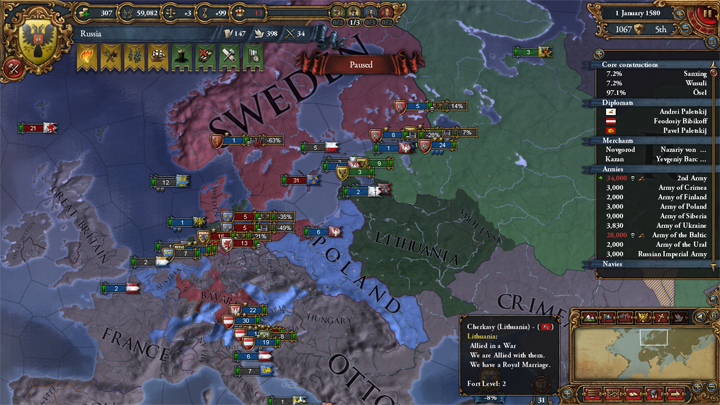 EUIV: War with Luneburg