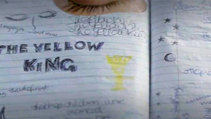 True Detective Yellow King notebook