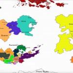 Tethys political map